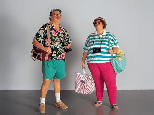 Last-minute Halloween costumes tourists