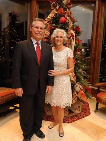 3 Phil and Carol Garner at the Texas Children's Hospital Woodlands dinner December 2013