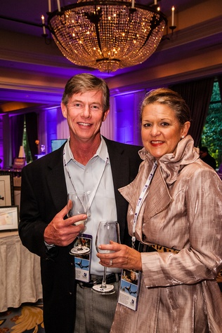 12 Randy and Ruth Adams at The Periwinkle Foundation's Iron Sommelier October 2014