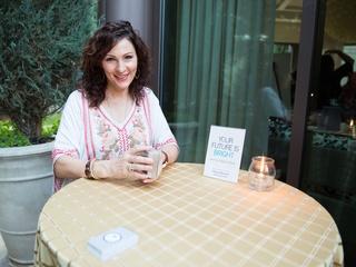 Tarot card reader Megan Benanti