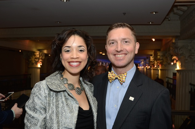 5 Amanda Edwards and Ryan Lindsay at the Victory Brunch March 2015