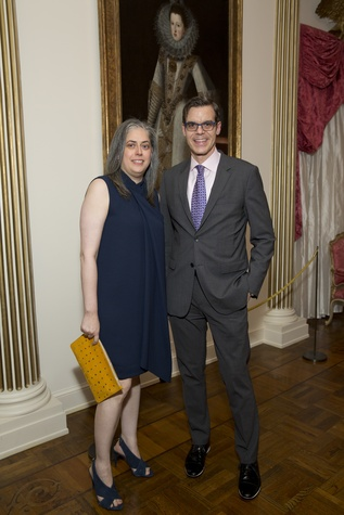 Rienzi Spring Party, 5/16  Christine Gervais, Richard Aste
