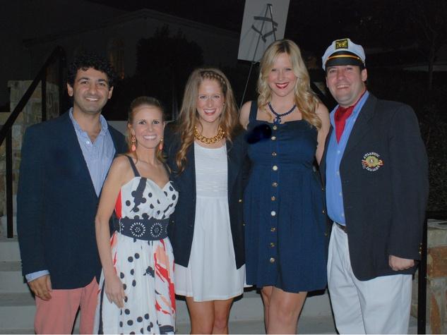 Andrew Affifian, Kelly Cantu, Molly Ridgeway, Whitney Brune, David Dees, LPJC Yacht Party