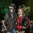 5 Christopher Papke and Lindy Anderson at The Patroleum Club Halloween party November 2014