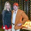 14 Lori Krohn, Phillip Sarofim at Vallone's opening party November 2013