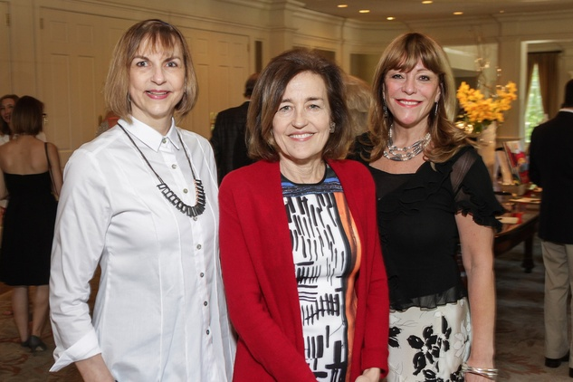News, shelby, Center for Contemporary Craft luncheon, Vitoria Lightman, Andrea White, Franci Neely