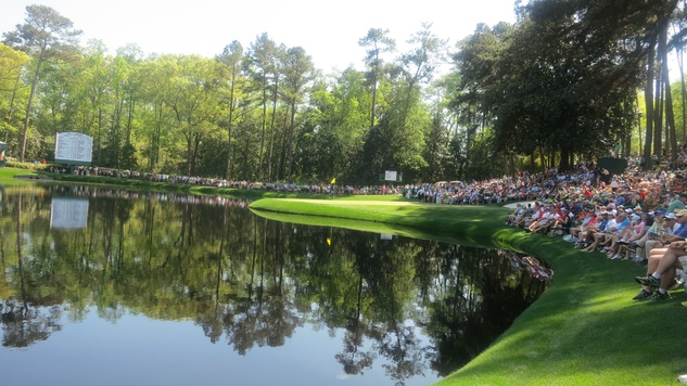 Augusta National Golf Course during Masters tournament Aprill 2013