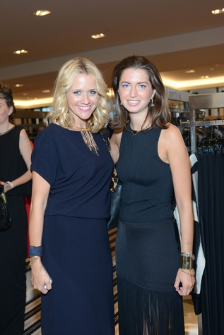 51 Lyndsey Zorich, left, and Tamar Mendelssohn at the WOW Summer Soiree August 2014
