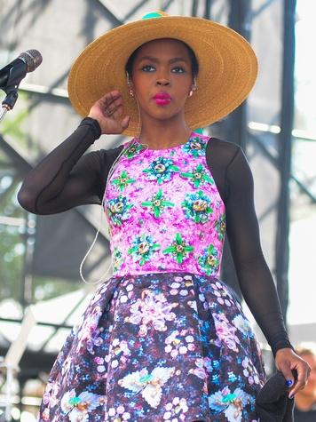 Lauren Hill at Free Press Summer Fest June 2014