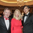 1 Alain and Marie LeNotre, left, with Sujiro Seam at the Gaston LeNotre Scholarship Gala February 2015