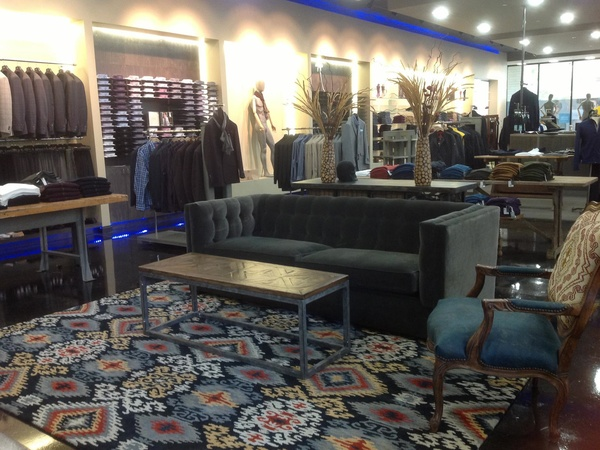 Dryden Kreps in City Centre, men's fashion, store interior