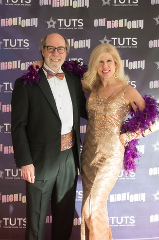 Cal and Connie Dalton at 2017 TUTS Dreamgirls Gala