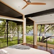 Austin house home Houzz modern Lake Austin bedroom
