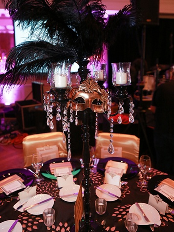 4 EnVogue Events oversaw everything décor at Hope Masquerade for a Cure Gala November 2013