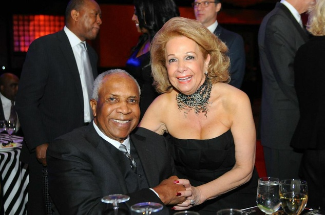 Frank Robinson and Philamena Baird at the Legacy Gala December 2014