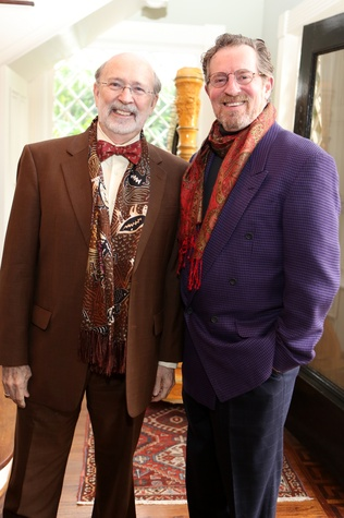 C.C. Conner, left, and D.L. Grover at the Houston Grand Opera Tea March 2015