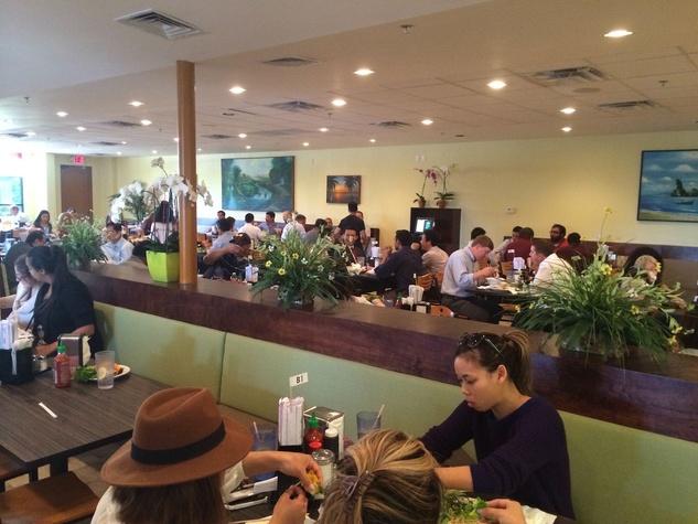 Thien An Vietnamese restaurant interior
