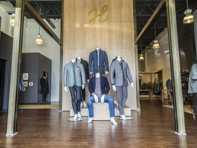J. Hilburn showroom in Dallas