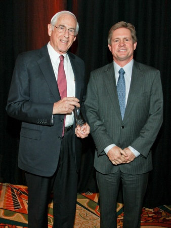 National Philanthropy Day luncheon, November 2012, Dr. John Mendelsohn, Jeff Hildebrand