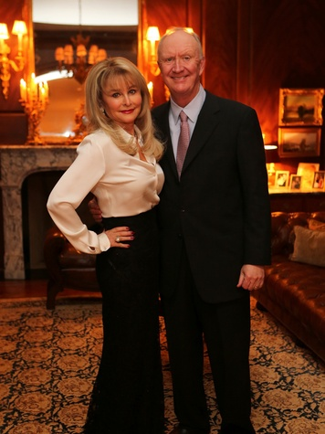 12 Michelle and Frank Hevrdejes at the HGO Opera ball kick-off party January 2014