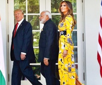 Melania Trump in Pucci gown