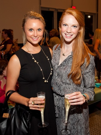 Houston Ballet and Bubbles, October 2012, Alyson Ryall, Megan Welch