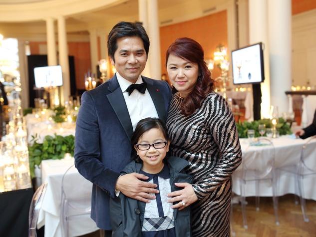 Know Autism Gala, Feb. 2016, Wayne Nguyen, Tammy Tan Nguyen, Julia Nguyen