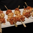 13, Del Frisco's Grille VIP party, March 2013, Miniature chicken waffle skewers
