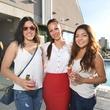 Amanda Pena, Adileh Kassai, Farrah Akhtar at Sabores chef party