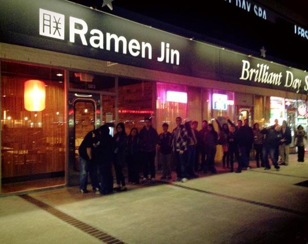 Ramen Jin opening line