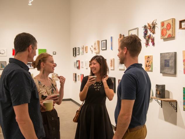 Make Eat Drink in Austin Pre Dinner Gallery Recpetion