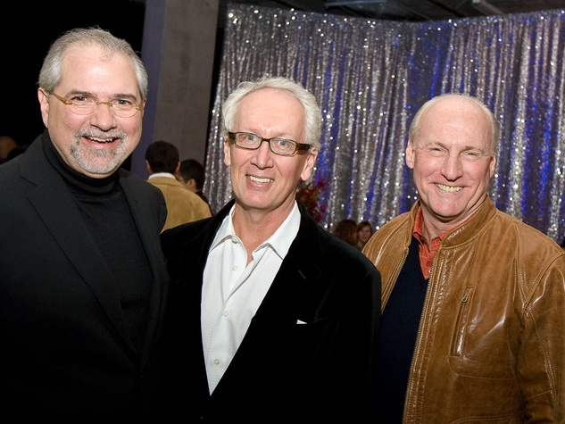 CM Launch Dec. 2009_Bob Cavnar_Don Short_Scotty Arnoldy_Jess Moore