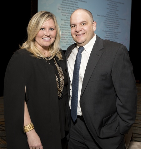 4 Meredith Riddle Chastang and Patrick Chastang at Bo's Place luncheon February 2015