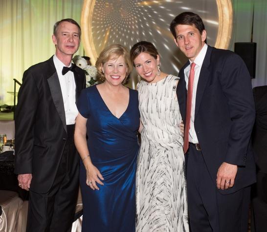 Covenant House Gala, March 2016, Brett Hamilton, Anne Hamilton, Dominique Sage, Hunter Sage