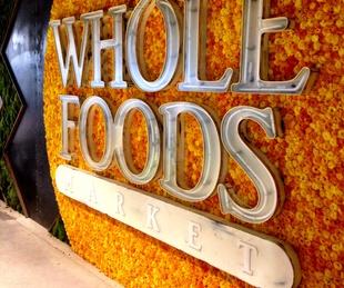 Whole Foods Domain signage