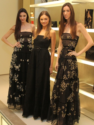 News_Houston Grand Opera_Valentino luncheon_March 2012_Valentino gowns_models