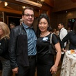 Yuni and J.J. Paufiques at the George Rodrigue Blue Dog dinner September 2014