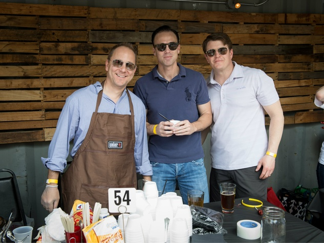 Brian Joyce, Rob McNaughton, Justin O'Malley, YTAC Chili Cook off