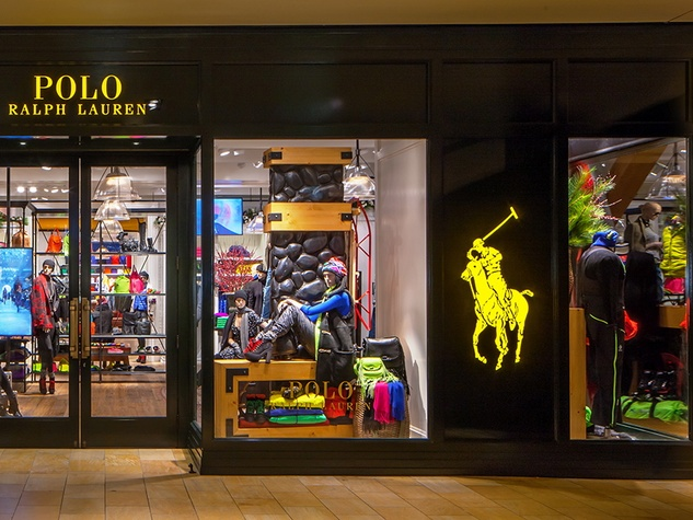 New Polo Ralph Lauren store in The Galleria exterior with polo pony