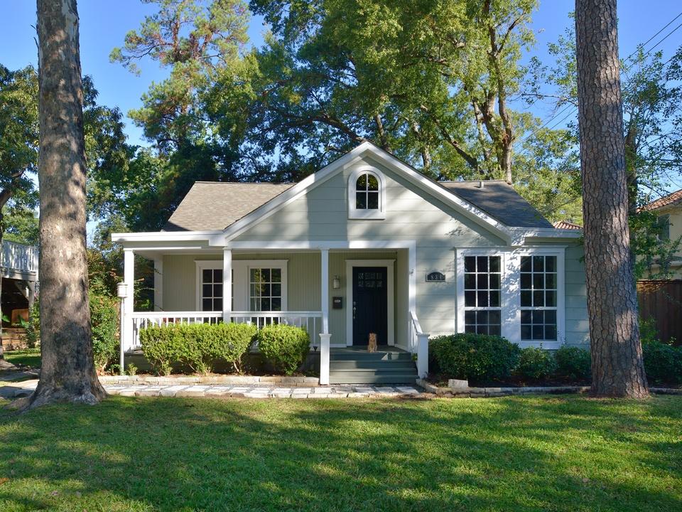 Garden Oaks Home and Garden Tour 2014 834 W. 41st St. HOUSE