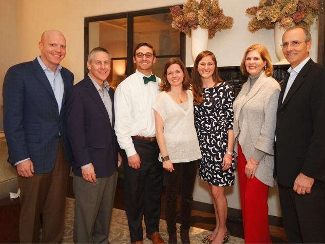 BraveLove's Board of Directors: Eliot Kerlin, Frank Garrott, Sam Turtletaub, Ellen Porter, Carrie Henderson, Mary Jayne Fogerty, Todd Hunter
