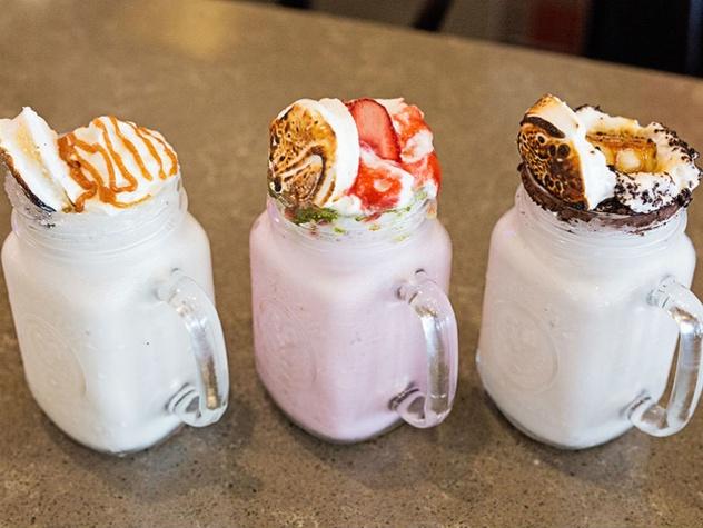 Royale Magnificent Burgers milkshakes