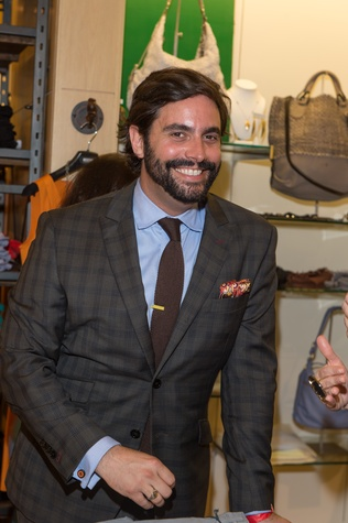 M Penner Magazine launch party April 2013 Sam Governale