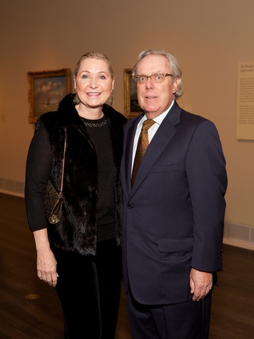 6 Carol and Mike Linn at the MFAH Impressionism dinner December 2013
