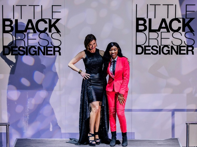 Dominique Sachse Florescu, Dika Obiaju at Little Black Dress Designer