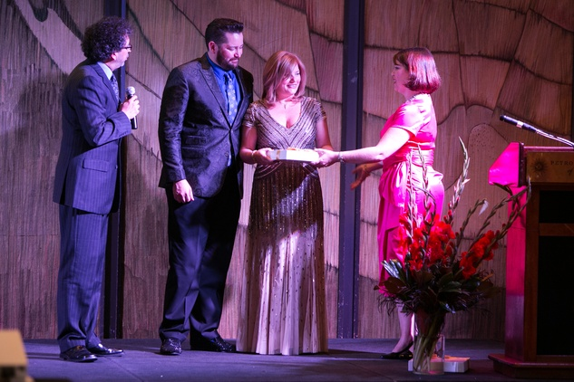 55 Enrique Carreon-Robledo, from left, Dan and Kelly Mathena and Stephanie Helms at the Opera in the Heights Gala June 2014