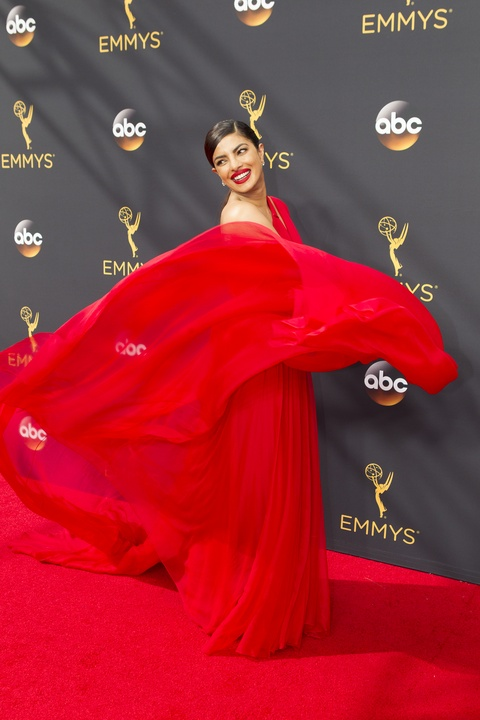 Priyanka Chopra at Emmy Awards in Jason Wu