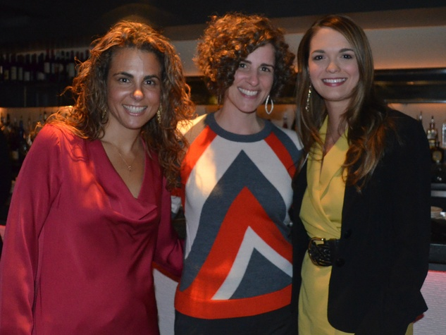 Carla Rosenberg, Jennifer Chininis, Shannon Nelson at MS On the Move Luncheon kickoff