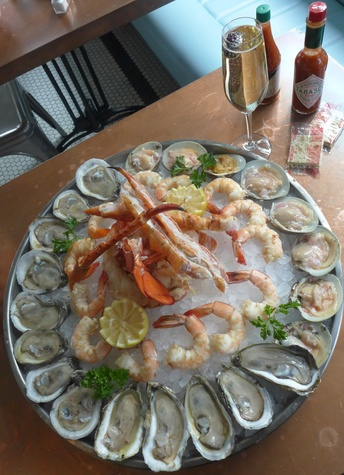 Liberty Kitchen seafood tower