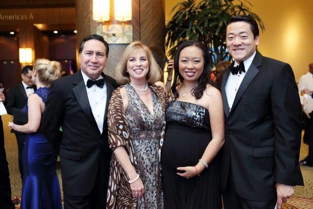 HCC Foundation gala 4/16, Denis DeBakey, Lavonne Cox, Miya Shay, Gene Wu